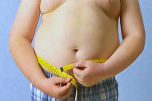 Criança obesa