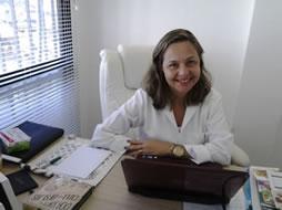 Nutricionista Gisele Vieira