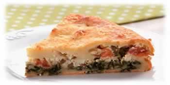 Torta de Espinafre e Ricota